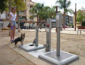Toilette pubblica per cani