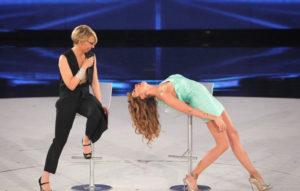 Belen contro Virginia Raffaele