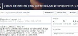 facebook virus rayban