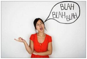 Parlare da soli è normale?