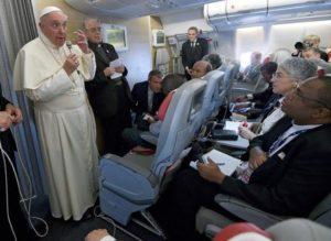 Papa Francesco torna a Roma