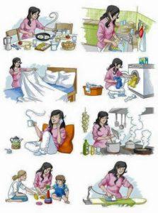 cosa fa una casalinga
