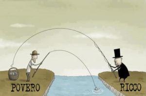 differenza ricchi e poveri