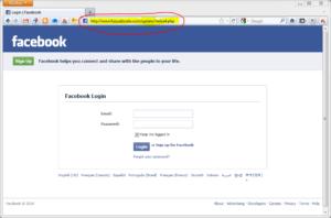 riconoscere un tentativo di phishing facebook