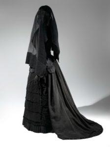 funerale lutto nero