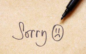 Frasi per chiedere scusa e per scusarsi con qualcuno