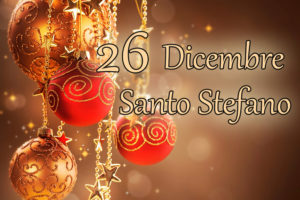 giorno di Santo Stefano festa
