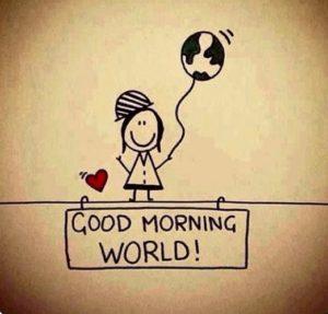 Svegliarsi la mattina con una frase del buongiorno