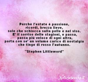 frasi aforismi e citaioni Stephen Littleword