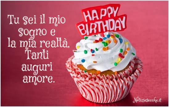 Auguri Di Buon Compleanno Amore Mio Frasi Ardusat Org