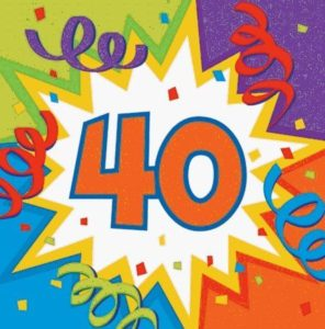 Compleanno 40 anni: Frasi di auguri per i 40 anni   Frasi