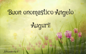 Buon Onomastico Angelo Frasi E Auguri Per Festeggiare Il Nome