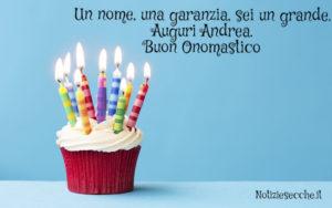 Buon Onomastico Andrea Frasi E Auguri Per Festeggiare Il Nome