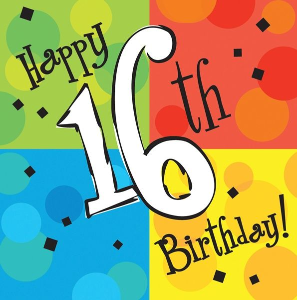 Auguri Di Compleanno Per I 16 Anni