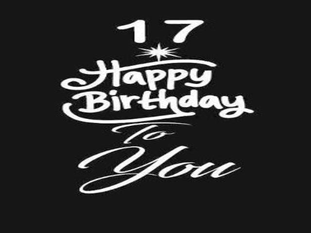 auguri buon compleanno figlia 17 anni