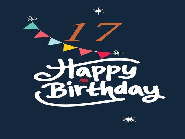 auguri compleanno 17 anni