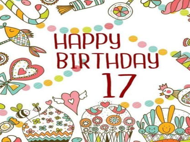 auguri compleanno figlia 17 anni