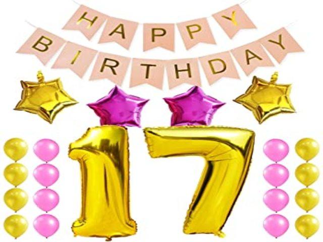 auguri di buon compleanno 17 anni