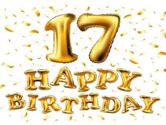 auguri di compleanno 17 anni