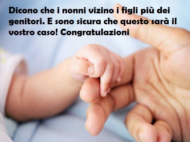 congratulazioni per nascita