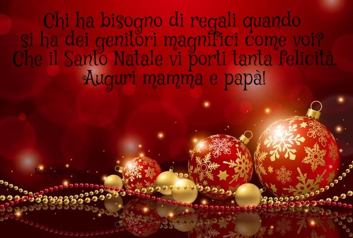 Aforismi Auguri Di Natale.Auguri Di Natale Per I Genitori Buon Natale Mamma E Papa Notiziesecche Frasi Aforismi E Citazioni