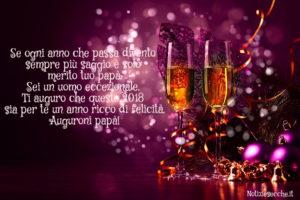 Buon anno papà Frasi auguri Capodanno