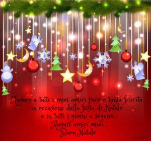 Buon Natale Amico Frasi Di Auguri Di Natale Per Amici