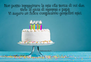 compleanno gemelli
