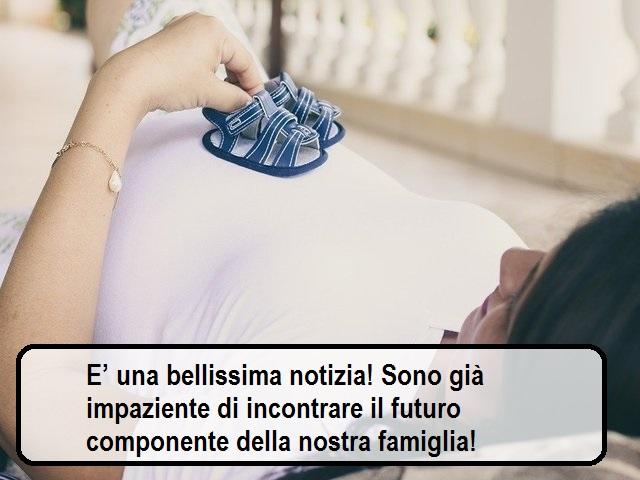 frasi auguri gravidanza