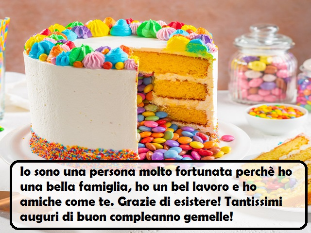 torte compleanno gemelli