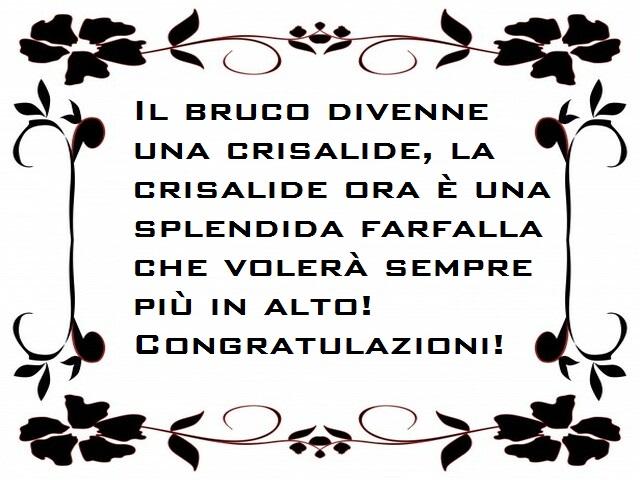 congratulazioni lavoro