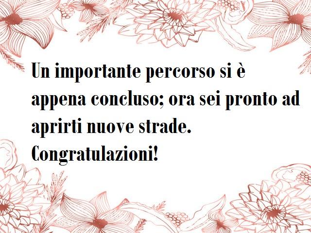 frasi di congratulazioni