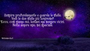 Buonanotte Amore Mio Frasi Romantiche Notiziesecche Frasi