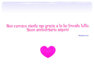 anniversario di fidanzamento Frasi per il fidanzato