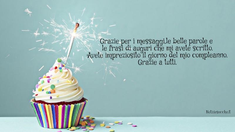Frasi Per Ringraziare Per I Messaggi Di Compleanno Notiziesecche