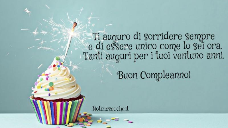 Frasi per 21 anni auguri di compleanno frasi aforismi for Frasi di compleanno per una figlia