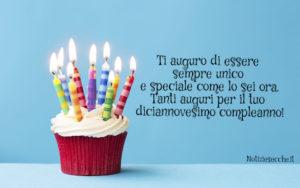 Frasi Per 19 Anni Auguri Di Compleanno Notiziesecche Frasi