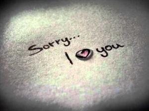 Frasi per chiedere scusa alla persona amata