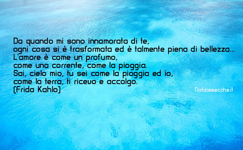 frasi d'amore magnifiche