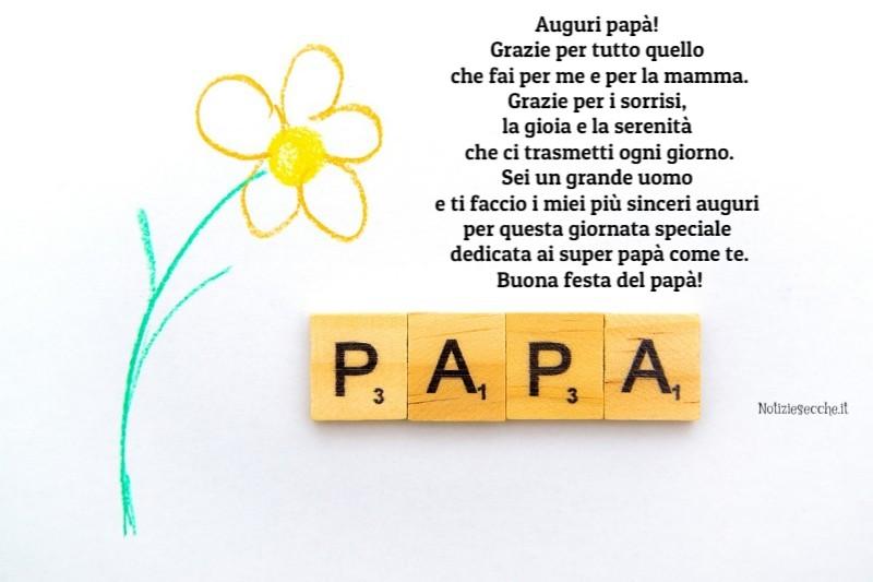 Frasi per la festa del papà commoventi