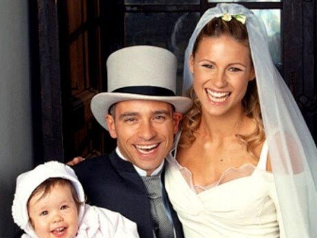 foto matrimonio Michelle Hunziker ed Eros Ramazzotti