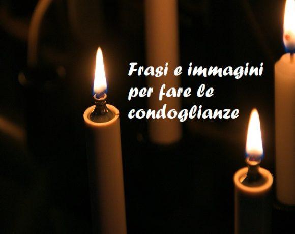 frasi condoglianze lutto