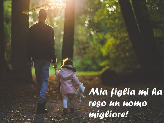 frasi d'amore per una figlia